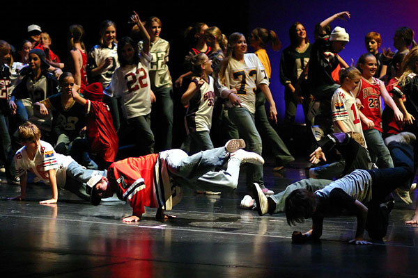 Πρόγραμμα break dance