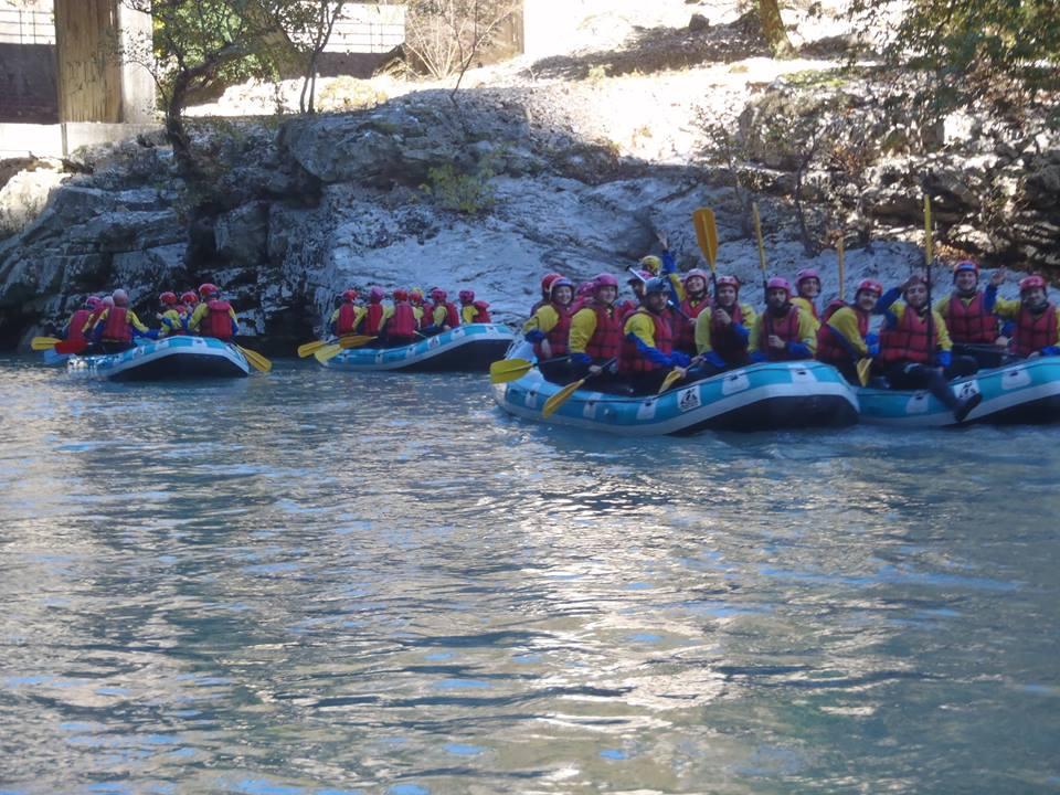Νέο: Rafting στον Άραχθο